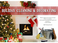 Pre Christmas Cleaning booking starts now! Limited spaces available!