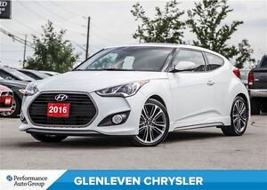 2016 Hyundai Veloster Turbo, NAV, Panoramic Sunroof