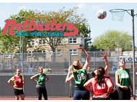Back to Netball session in Shoreditch