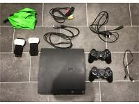 PS3 slim 26 games 2 Controllers MINT