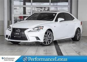 2014 Lexus IS 250 AWD 6A F-SPORT NAVI!