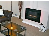 Focal Point Flue-less wall mounted gas fire
