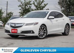 2015 Acura TLX Elite-Leather, Sunroof, NAV, LOW KMS !!!!