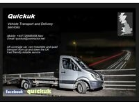 Cars Van Delivery service transportation recovery England to Scotland and back all UK