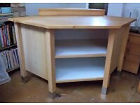 IKEA 'Varde' Freestanding Kitcher Corner Base Cabinet/Unit. Used. VGC. Collection only.