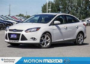 2014 Ford Focus Titanium Sunroof Leather Navigation