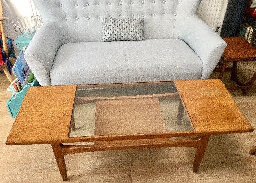 Vintage Gplan Coffee Table Mid Century Teak Wood Gl Long John