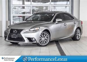 2015 Lexus IS 250 AWD 6A PREMIUM! 1 OWNER.