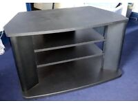 TV STAND MATT BLACK
