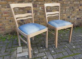 beech wood chairs - 1930/40s