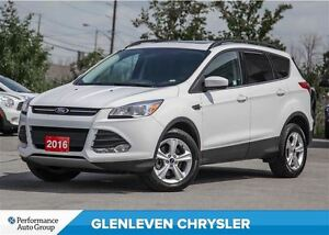 2016 Ford Escape SE, Leather, Sunroof, Heated Seats
