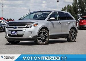 2014 Ford Edge SEL AWD Pano Roof Navi Leather