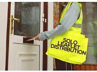Central London Door to door leaflets/ promotional materials destributions