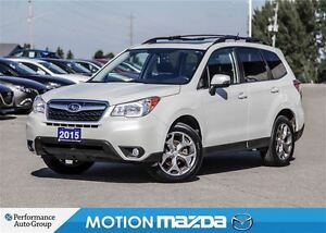 2015 Subaru Forester 2.5i Ltd Tech Pkg+ Winter Tires