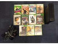 Xbox 360 with 11 Games