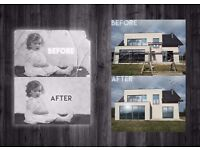 photo montages | retouch | designing of leaflets, brochures, posters, business cards. ASK FOR MORE