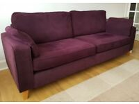 3 Seater Sofa & Chair