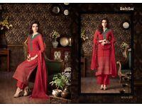 most elegance designer sahiba cotton salwar suits