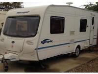 Bailey ranger 550/6 6 berth 2004 caravan with extras