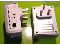 Netgear Powerline XAV101 200Mbps network extender via mains wiring