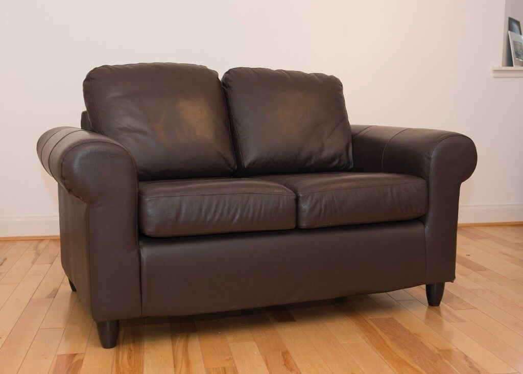 Ikea Leather 2 Seater Sofa In Perth Perth And Kinross