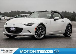 2016 Mazda MX-5 GT DEMO MIATA Leather