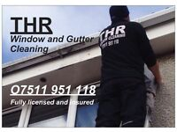 THR WINDOW AND GUTTER CLEANING