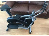 Confidence Fitness cross-trainer and cycling machine