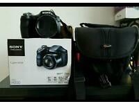 Sony dsc 200 20.1mp 20 x optical zoom camera