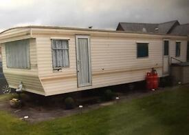 Static caravan ( Hay on Wye Wales)