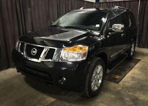 2013 Nissan Armada Platinum  All-Wheel-Drive / DVD / Leather