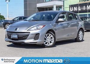 2012 Mazda MAZDA3 SPORT 5Speed CONV PKG Cruise Bluetooth Alloys