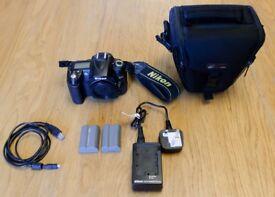 Nikon D90 + Prime Lens 35mm 1:1.8 + Zoom Lens 18-105mm + Extras
