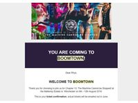 Boomtown Chapter 10 2018 - 1x Weekend Tickets
