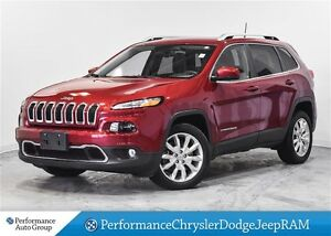2016 Jeep Cherokee Limited * V6 * NAVIGATION