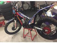 2014 Gasgas pro 300 trials bike.