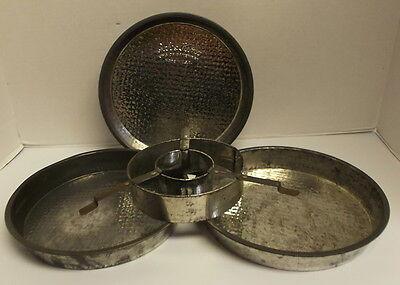 Checkered Marble Cake Pan Set Bake King 3 Layer 9'' Vintage ()