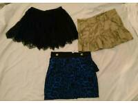 Job lot skirts 8/10