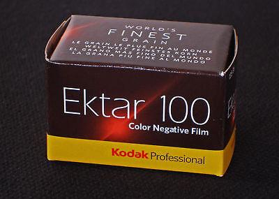 KODAK EKTAR 100  36 Aufn. Kleinbildfilm   5 Filme  MHD/expiry date  01/2020