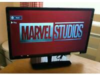 22in Logik 1080p LED TV with Freeview HDMI USB VGA SCART