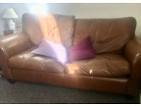 Leather Sofa Bed (high quality)