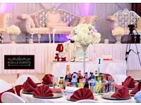 Wedding /Event decoration package deal for 0-100 for £395