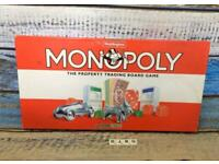 Vintage Monopoly Property Trading Board Game By Waddingtons 1995 Family Game