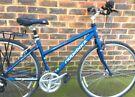 17 inch Ridgeback Velocity Aluminium bicycle Hybrid bike Commuter Town bicycle