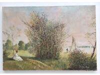PAINTING ON CANVAS Impressionist Style