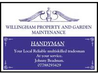 Handyman and gardener