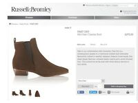 Russell and Bomley Aquatalia Ankle Boots This Season