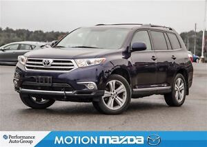 2013 Toyota Highlander 4WD Sport  Leather Roof Remote starter