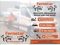Vehicle Recovery, Mechanical Repair, Car Sales and Number Plates