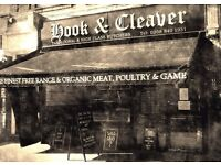 Experienced butcher required
